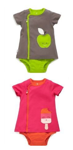 Zipit romper dresses make diaper changes easier. And so cute!