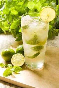 Low Calorie Cocktails - aka there's a mojito recipe in there. I am so in!