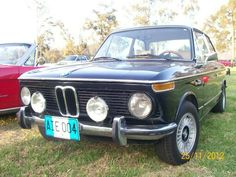 BMW 2002 1973 exposition