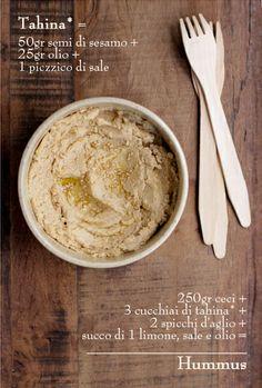 - VANIGLIA - storie di cucina: Il lunedì delle amiche: Hummus di Jasmine + Tahina fatta in casa!