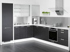 Kitchen from Puustelli, great colors! Beach Kitchens, Interior Decorating, Interior Design, Kitchen Living, Kitchen Cabinets, Dining, House, Home Decor, Kitchen Ideas