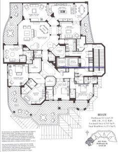 Penthouses in Miami Floor Plans Floor Plan Trump Palace Floor