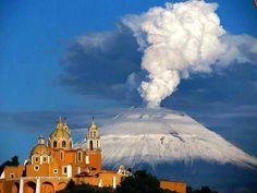 Popocatepetl, México.