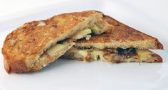 Green Apple, Brie and Caramelized Onion Panini