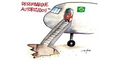 Após turbulência, Dilma desembarca do governo