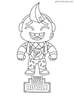 There are many high quality Fortnite coloring pages for your kids - printable free in one click. Boy Coloring, Coloring Pages For Boys, Cartoon Coloring Pages, Coloring Pages To Print, Colouring Pages, Printable Coloring Pages, Coloring Sheets, Manta Crochet, Some Pictures