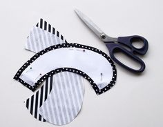 [DIY] Two sides peter pan collar | Fashionrolla by Xenia Kuhn: [DIY] Two sides peter pan collar