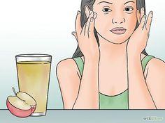espinha interna - Experimente suco de maçã ou de limão