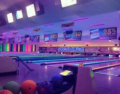Bowling is vaporwave af Purple Aesthetic, Retro Aesthetic, Aesthetic Photo, Photo Wall Collage, Picture Wall, Vaporwave, Trailer Park, Night Vale, It Goes On