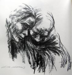 expressive figure drawing charcoal kollwitz - Bing images