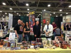 Kevin J. Anderson and crew at #FanX
