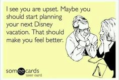 It would make me feel better!
