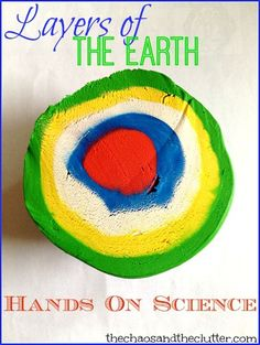 Layers of the Earth Hands-On Science Activity