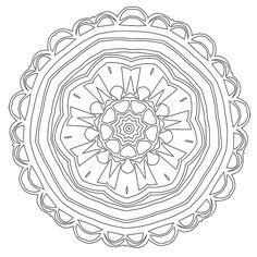 Mandala Coloring Page #37