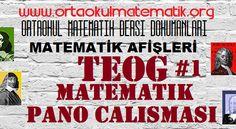 TEOG MATEMATİK PANO ÇALIŞMASI 1