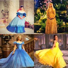 Disney Princesses with their ball gowns. Please give credit. Disney Princess Movies, Disney Princess Fashion, Disney Princesses And Princes, Disney Movies, Image Princesse Disney, Disney Doodles, The Beast Movie, Disney Dress Up, Disney Live