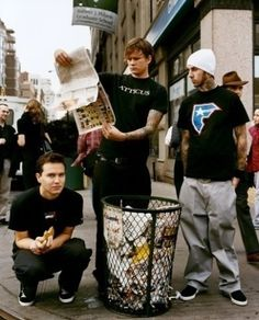 blink-182: Tom DeLonge, Mark Hoppus, and Travis Barker ❤