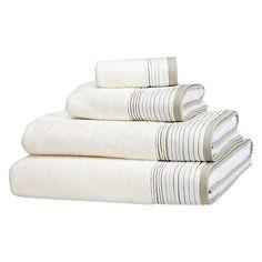 Buy John Lewis White Shop Puritan Pleats Towels Online at johnlewis.com