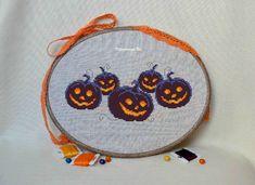 Halloween Pumpkins - Cross Stitch Pattern PDF - Instant download Halloween Décor Cross stitch Halloween pattern Scary pumpkin Xstitch chart by KaleidoscopeUa on Etsy https://www.etsy.com/listing/531692320/halloween-pumpkins-cross-stitch-pattern