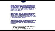 Damsel in Defense Leads | self-defense weapons Leads Learn how to generate 100 free leads per day for your  Damsel in Defense Business. Your Best Email Sent To 10K Members ONLY $10 For Your  Damsel in Defense Business http://traxad.com/r/power_PC
