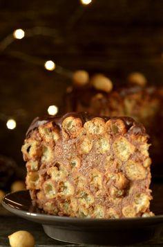 Czekoladowe ciasto na groszku ptysiowym - bez pieczenia - niebo na talerzu Sweet Recipes, Trufle, Ethnic Recipes, Tarts, Food, Kitchen, Bakken, Mince Pies, Pies
