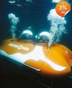 Faibels, U-Boot, bemannt, Nemo100Explorer, Tauchtiefe 50m, Rabatt, Bonus, Cashback, Gutschein, weeconomy, wee für YubyYu