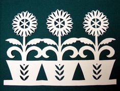 Vystřihujeme I. Kirigami, Paper Art, Paper Crafts, Scroll Saw Patterns, Easter Holidays, Paper Cutting, Stencils, Stamp, Holiday Decor
