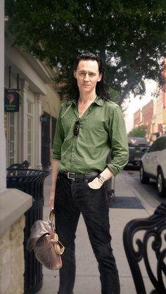 Loki - I Wanna Go Shopping by RancidRainbow Digital Art / Photomanipulation / People©2014 RancidRainbow