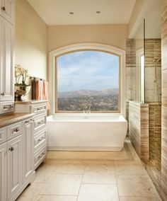 Perfect For The Second Floor This Radius Window Is A Large Statement And Brings In Light To Bathroom Featuring Style Line Series Windows
