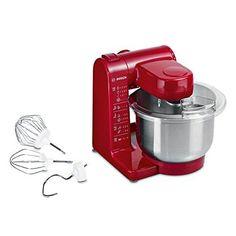Oferta: 89.23€. Comprar Ofertas de Bosch MUM44R1 - Robot de cocina, 500 W, capacidad 3,9 l, color rojo barato. ¡Mira las ofertas!