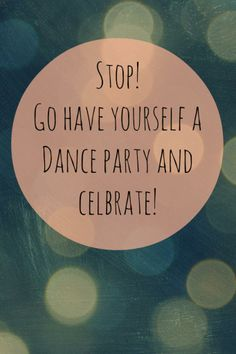 Dance partay!!