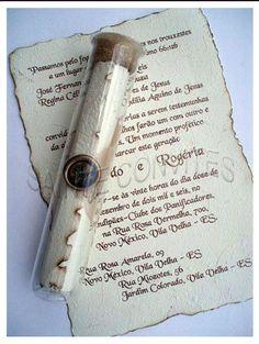 So romantic and original! Scroll Wedding Invitations, Scroll Invitation, Invitation Design, Wedding Stationery, Wedding Prep, Diy Wedding, Autumn Wedding, Wedding Stuff, 18th Party Ideas