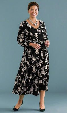 Nora Maxi Dress / MiB Plus Size Fashion for Women / http://www.makingitbig.com/product/5075