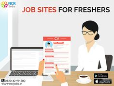#JobSiteForFreshers acts as the mediator between job seekers and recruiters. On these job portals, you can search job seeker can search and recruiters can post the jobs.  See more @ http://bit.ly/2h5v8xG Download App @ http://bit.ly/2nxOUn3 #NCRJobs #JobPortal