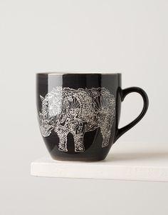 RHINO XL mugg grå | Mugs/cups | null | Glas & Porslin | Home | INDISKA Shop Online