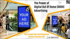 Best Outdoor Advertising Agency and Digital Advertising Hyderabad Billboards Advertising, Advertising Services, Advertising Campaign, Target Audience, Cool Eyes, Mall, Branding, Digital, Business