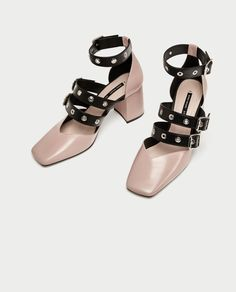 Mules Elastische Riemen Sandalen Metallisch Damenschuhe Plateau Pumps Pantolette