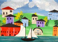 that artist woman: Maritime Landscapes
