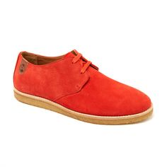 Paddy Lo Perfo Derby // Coral Suede (Euro: 40 / US: 7-7.5)