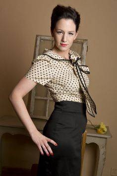 You searched for Blouse polka bow - Jaren 50 kleding | Jaren 60 kleding | Jaren 50 jurken