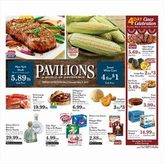 Pavilions Weekly Ad May 3 - 9, 2017 - http://www.olcatalog.com/pavilions/pavilions-weekly-ad.html