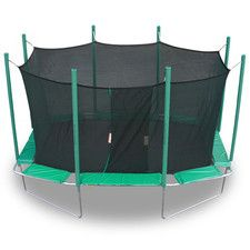 9 x 14 ft. Rectagon Trampoline with Enclosure