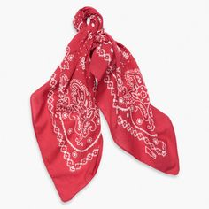 Paisley bandanas are having a moment in the limelight. Grab a classic from Levi's   £15