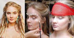 Valentina Bulc, de Malhação, mostra o passo a passo de uma maquiagem de sereia para o Carnaval