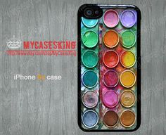 Water color paint set iPhone 5c Case watercolor by MyCasesKing, $6.99