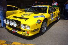 Lancia 037 group B. Maserati, Ferrari, Alfa Romeo, Mopar, Sport Cars, Race Cars, Dodge, Lancia Delta, Yellow Car