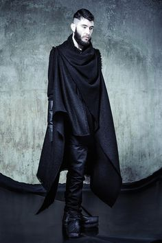 Minoar A/W15 Lookbook – Trans Urbem #fashion #menswear #black #dark