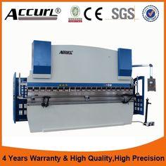 6mm hydraulic plate bending machine,8ft sheet metal bender,cnc press brake 2.5 meters 100 Tons metal plate cnc bending machine