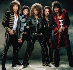 Bon Jovi 80's
