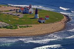Point Judith Lighthouse and Coast Guard station, Rhode Island